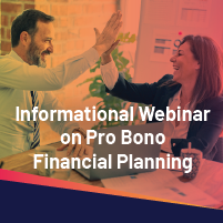 Promo Image with High five between financial planners